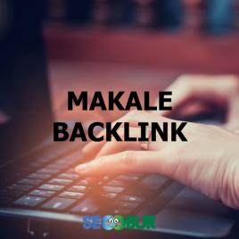 Makale Backlink Çalışması