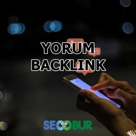 Yorum Backlink Çalışması